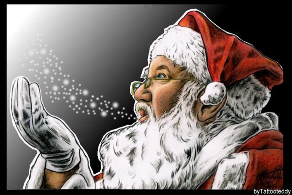 Santa Claus by Tattooteddy